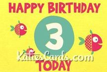 Ecards Are Us / Ecards are our thang. Browse http://www.katiescards.com/ to find an e greeting for a Birthday, Christmas, Weddings, Anniversaries and much more! / by Katie Davies