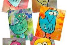 Art Ed - first - third grades / by Linda Daumen