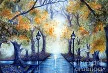 Paint your world a prettier place / Inspirational art  / by Janine Riley