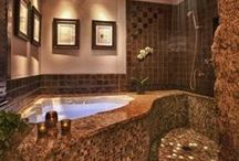 Luxurious Bathrooms / Ideas and Inspirations for luxurious bathrooms / by Mexican Connexion
