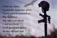 Ultimate Sacrifice / Those who died in the line of duty. / by Victoria Key