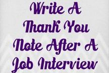 Interview:  After / Tips and Tricks to know after the Interview / by CareerCenter CypressCollege