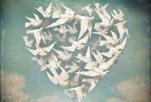 Envolée d'ailes, envolée d'elles / Tout ce qui s'échappe des êtres, les rêves, les ombres, les avenirs, les pensées, l'imaginaire dans tous ses états d'âme... / by Chantal Maurouard