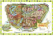 Theme Park Maps... / by Ron Vance