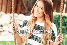 Lauren Conrad / by Meagan Murron Tiffiany Turquoise