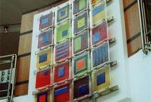 Fused Glass / Todo en vidrio fusionado / by Viely Flores Leal