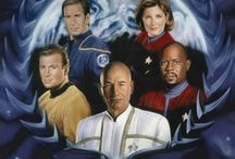 Star Trek Pic. Of All Captains / And Videos And Quotes  / by Patricia McElroy