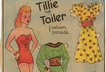 Paper Dolls 5 - Comics, Newspaper etc / A little bit of everything  / by Candy Sanelli