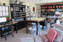 Sewing Room Ideas / by Heather Shinabarger