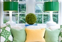 Emerald in the Home / Emerald is Pantone's 2013 Color of the Year. This means you can expect to see the deep green show up in clothing, print, and home decor all year. Here we highlight how you can use Emerald in your home. / by National Builder Supply