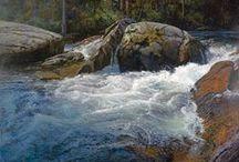 art lake river / by Cassandra Schepperle