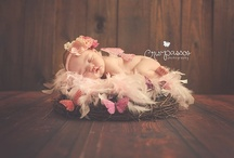 Newborn Photo Ideas / Ideas for poses, styles, lighting, props, etc.... 