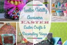 CeLeBraTe! Easter All Over! / Christ is risen! He is risen indeed! Celebrate fun with Easter eggs, egg hunts, crafts, festivals, food, fun & family, not necessarily religious.  / by Deborah Schuerman