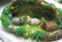 Easter / Ostern / by Toya V