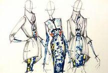 Fashion drawing / by Bhodisit bag