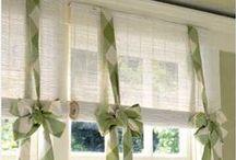 Home decor - Curtains / Windows treatment / by Silvia Vanessa Carrillo Lazo