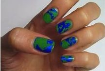 Earth Day Nail Art / Let's make our world beautiful by creating awareness for Earth Day! / by GoodLookingDiscounts