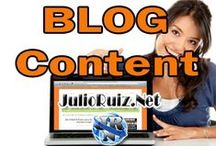 Blog / Content / Blog Tips, Information, Guides, Blogging Better / by Julio Ruiz / Mobile Marketing