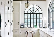 """HD -- Kitchens+Things / Creative and otherwise interesting kitchens -- color, """"feel"""" -- plus kitchen objects (knives, cookware, whatever!) / by Estie Stoll"""
