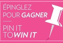 Pin It to Win It / Épinglez pour gagner / Contest is now closed. Thank you for participating! / Le concours est maintenant terminé. Merci d'avoir participé! / by Reitmans