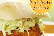 Food: burgers & sandwiches / by Priscilla Hedlin| Wheelchair Mommy