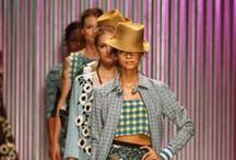 """Tracy Reese Spring 2014 / """"Tracy Reese spring 2014 radiates sensuality, energy and optimism with an array of bold, spirited styles infused with Afro-Cuban influences to create an aesthetic full of texture and movement.""""  / by Tracy Reese"""