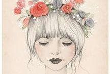 Illustrations / by Frau Punkt