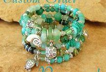 wire jewellry/crochet /knit/ wrapped / by christine