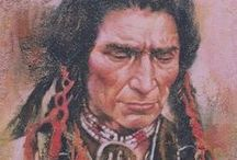 AMERICAN INDIANS / CULTURE OF INDIANS  PICTURES AND PAINTINGS / by Ramona Hackney