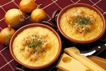 Swiss Cheese Soups / by Lorraine Cheese