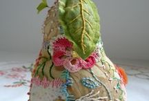 Needle, thread, fabric...  / by Sarah Little