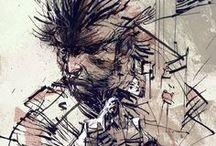 Illustration-style / by Diego Aldana