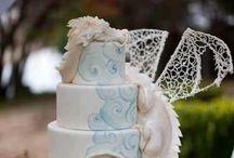 Wedding cake ideas / by Raven Hawk
