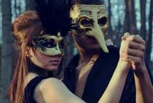 Masquerade Costume & Mask Ideas for Guests / Some examples and inspiration to help the guests coming to my masquerade wedding.  / by Raven Hawk