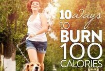 Calorie burn workouts / by Emily Moore