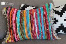 Pillows, Poufs & Tuffets / by Carol B