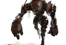 Robots / by Erland Holmquist