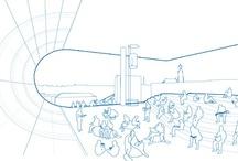 sfeerbeelden en 3d schetsen / by sander de knegt schetsontwerp| stedenbouw en architectuur illustraties illustraties