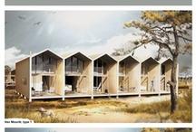 collages en 3d modellen / by sander de knegt schetsontwerp| stedenbouw en architectuur illustraties illustraties