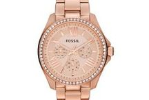 fossill watches / by Lucille Guay