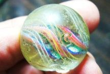 glass marbles / by Lucille Guay