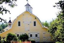 barn homes,barns, barns repurposed to assessories / by Lucille Guay