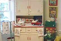 indiana hoosier cabinets / by Lucille Guay