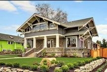 Craftsman Sears Roebuck  Kit Homes and others / by Lucille Guay