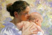 Mothers & Children ~ 2 of 3 / I LOVE BEING A MOM AND ALL THAT IT ENTAILS...  / by Therese
