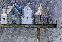 Birdshouses / Vogelhuisjes / by Deu-Deu Van Wingerden