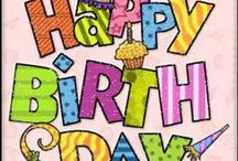 Birthdays / by Pamela O'Neal