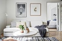 DANISH LIVING / FEMME-CHIC AND DANISH DESIGN IDEAS FOR MY LIVING AND DINGING ROOM / by Jessa George