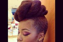Natural Hairstyles / by Ekua Aidoo