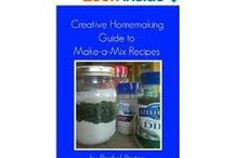 Kindle Books / A complete listing of currently Kindle books published by Creative Homemaking. / by Rachel @ Creative Homemaking